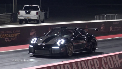 Modified Porsche 911 Sets a Quarter-Mile Time of 9.74 seconds