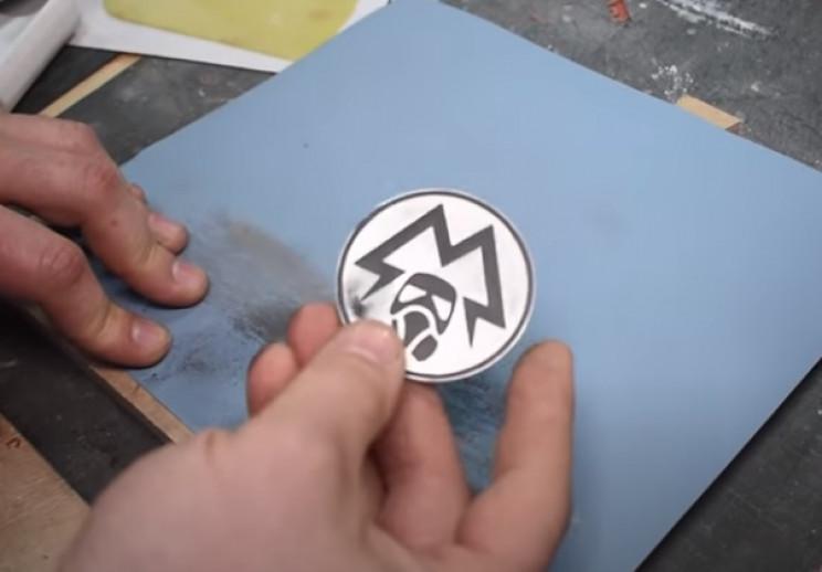 diy watch and dosimeter paint
