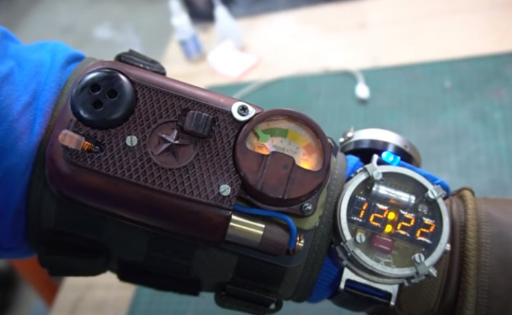 diy watch and dosimeter complete