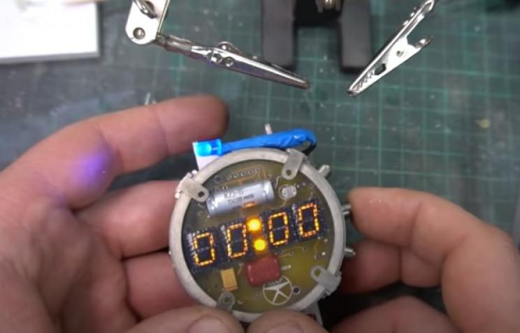 diy watch and dosimeter watch test