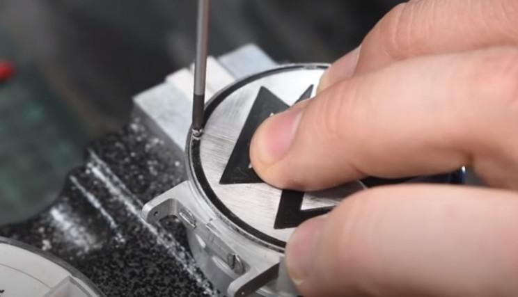diy watch and dosimeter rear faceplate
