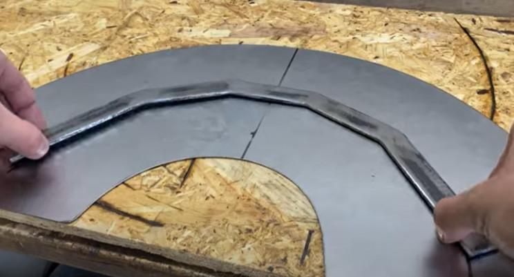 diy metal garden hose holder arch donut