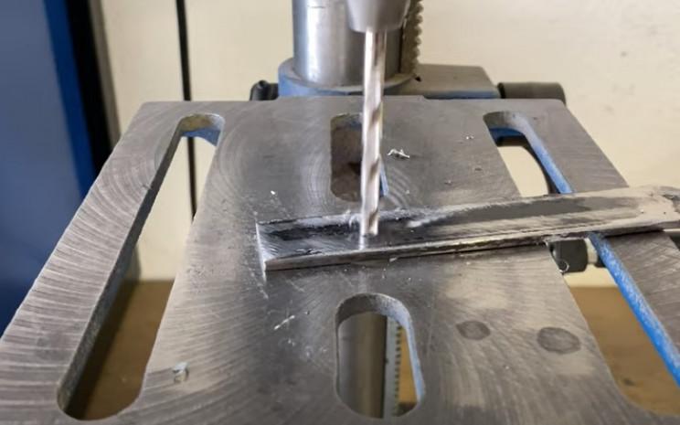 diy metal garden hose holder drill arch