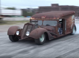 Watch a 1940's Milk Truck Show Off its  Hot Rod Status