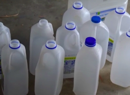 Upcycling at Its Best: Turning an Old Milk Bottle into Kitchen Materials