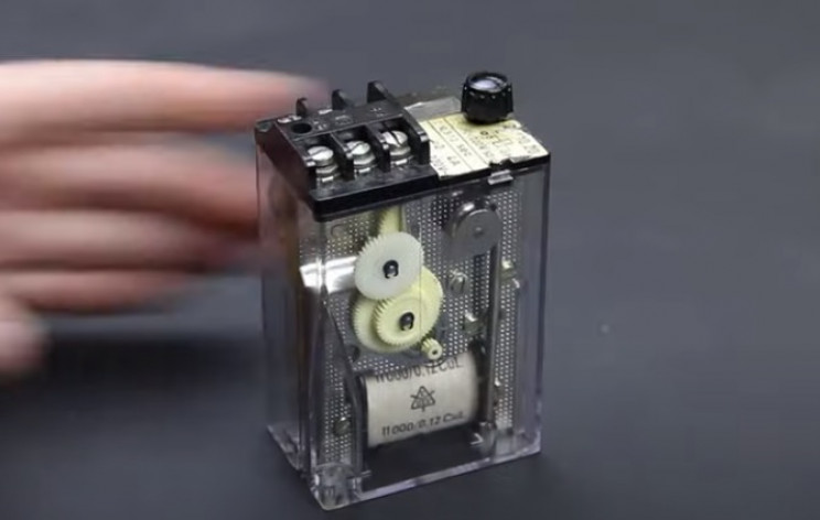 timer relay tear down