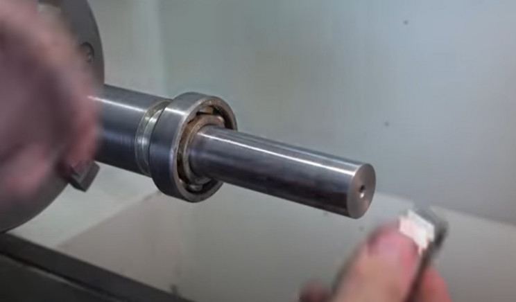 diy electric pipe bender ball bearings