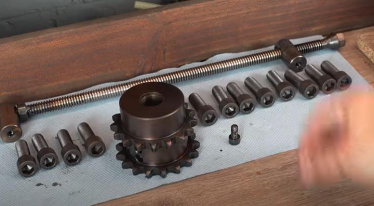 diy electrical pipe bender black parts