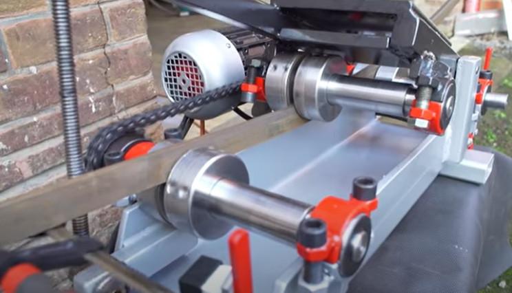 diy electric pipe bender complete