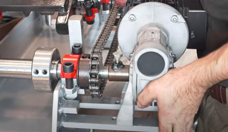 diy electric pipe bender reattach motor