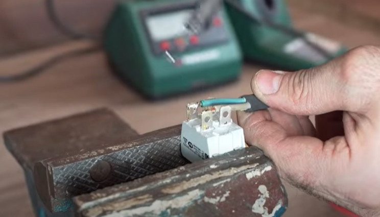 diy electric pipe bender wire switch