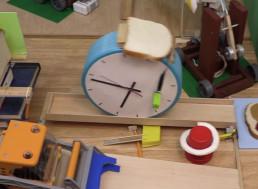 Rube Goldberg Machine Makes the Tastiest PB&J Sandwich