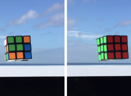 Rubik's Cube Solves Itself While Floating Mid-Air, Saving You out of Trouble