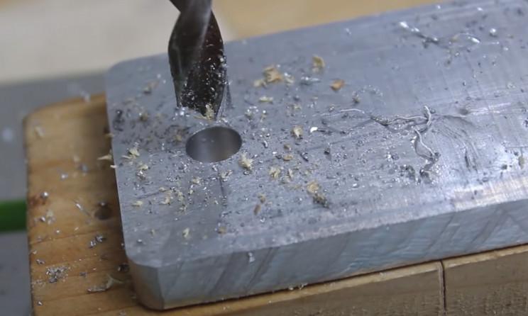 diy teflon wrapper aluminum