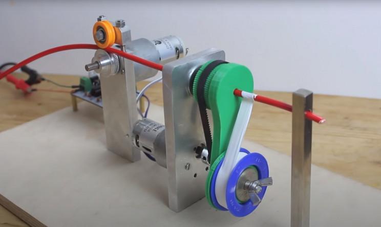 teflon wrapping machine
