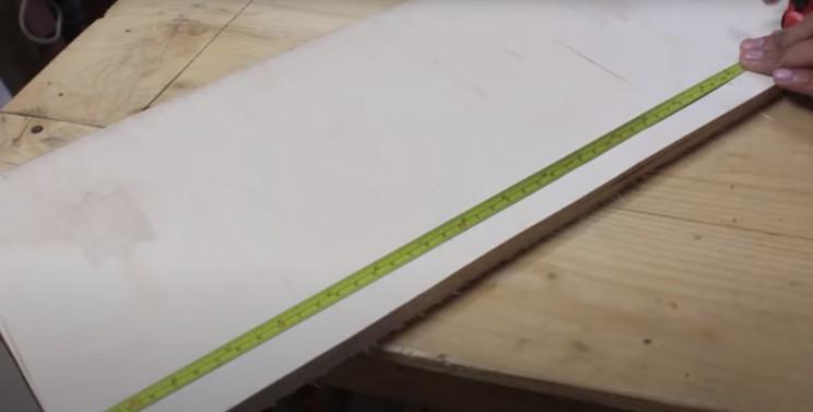 diy telfon tape wrapper wood