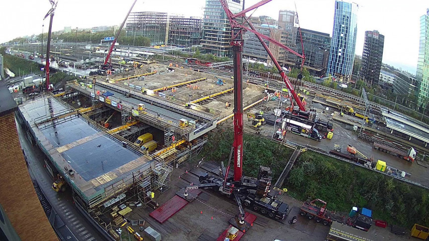 Watch the Timelapse Video of Construction Workers in Amsterdam Building a Road Tunnel in 3 Days