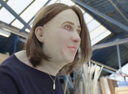 Meet Your Futureself, Emma, the Life-Sized Doll Which Shows How Office Workers Will Look like in 20 Years