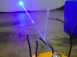 How to Make a Laser Microscope Using Just a Drop of Water