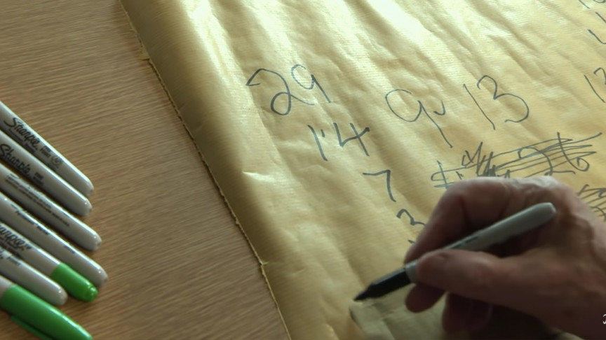 Johnny Ball Explains How to Use the Russian Multiplication Method