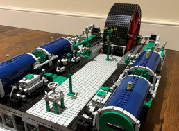 LEGO Genius Builds Scale Replica of Steam Engine From 1907