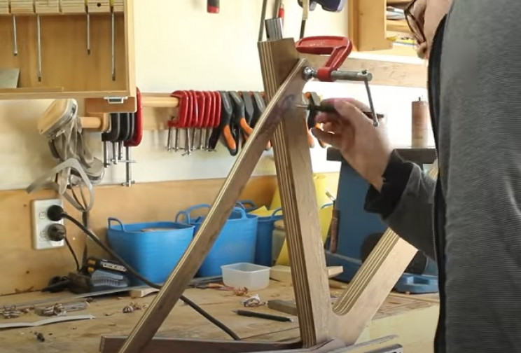 dy wooden bike mock up seatstays