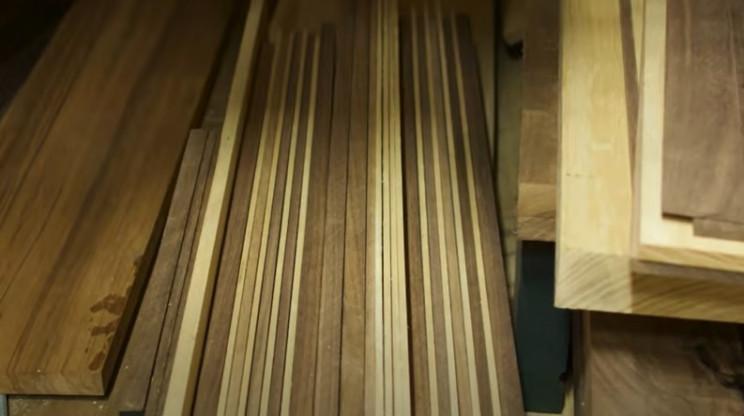 diy wooden bike wooden strips