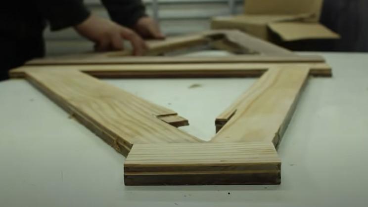 diy wooden bike frame