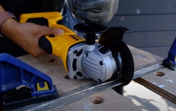 diy drop box hinge cut