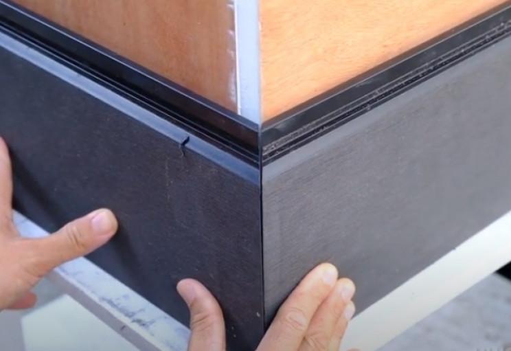 diy drop box clad box