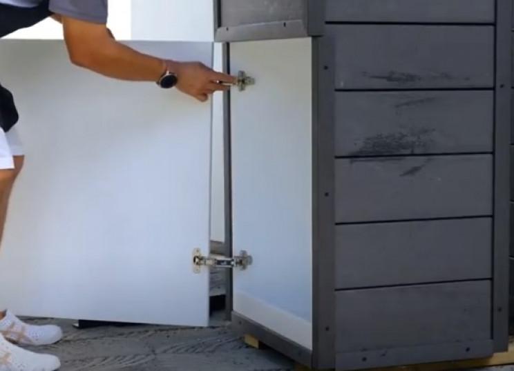 diy drop box rear door