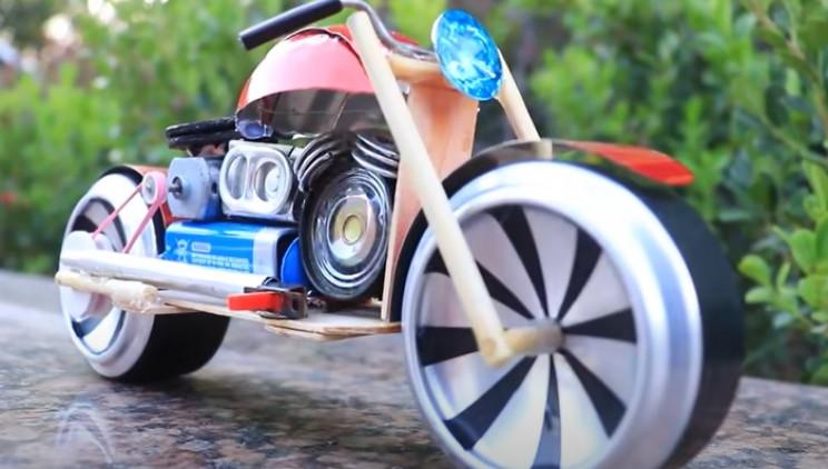 diy toy bike complete