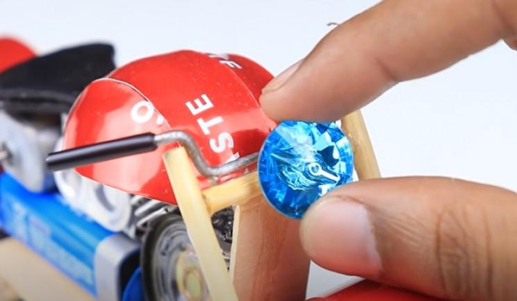 diy bike toy fake headlight