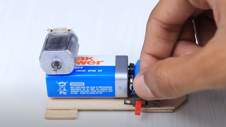 diy toy bike glue switch