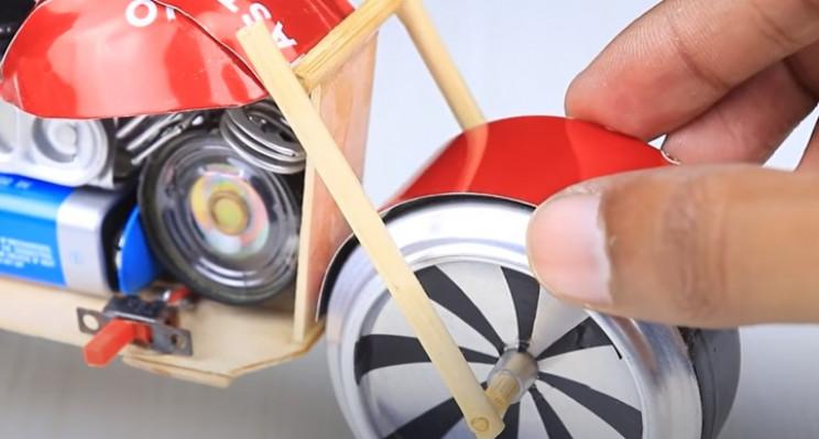 diy toy bike front wheel arch