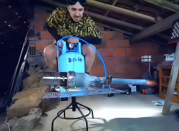 Mad Scientist Builds Jet-Powered Office Chair