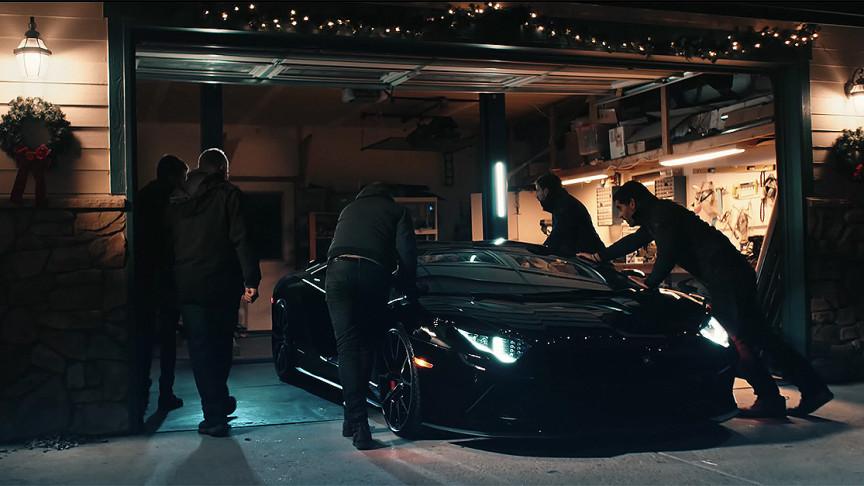 Creators of 3D-Printed Lamborghini Aventador Got A Real One on Christmas Morning