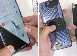 YouTuber Tears Down Samsung Galaxy Z Flip to Find the Promised Glass Material