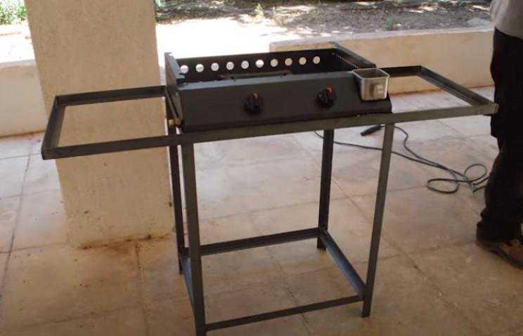 diy grill complete frame