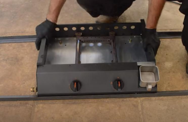 diy grill frame