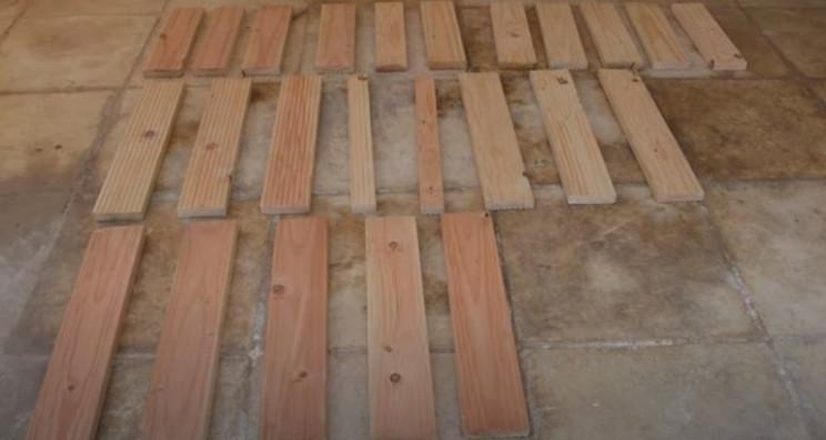 diy grill wood infills