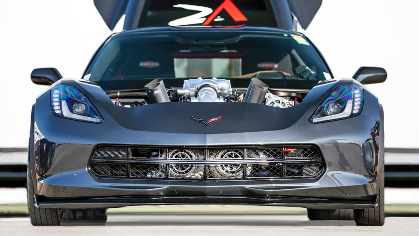 YouTubers Finally Get a C7 Corvette to Hit 200 MPH