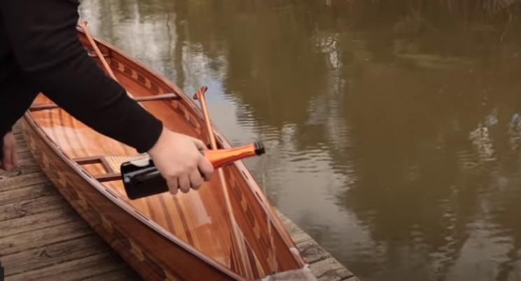 diy cedar canoe christen