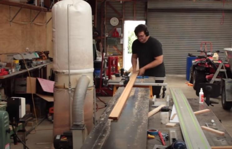 diy cedar canoe cut lengths