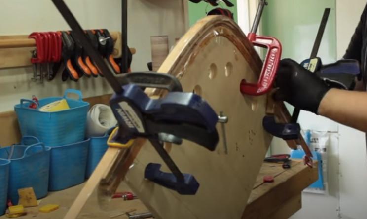 diy cedar canoe bend wood