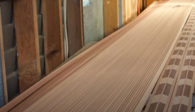 diy cedar canoe pieces needed