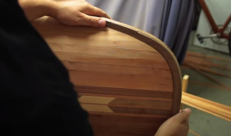 diy cedar canoe stem pieces