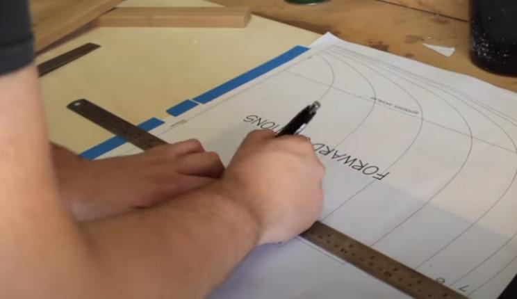 diy cedar canoe trace plans