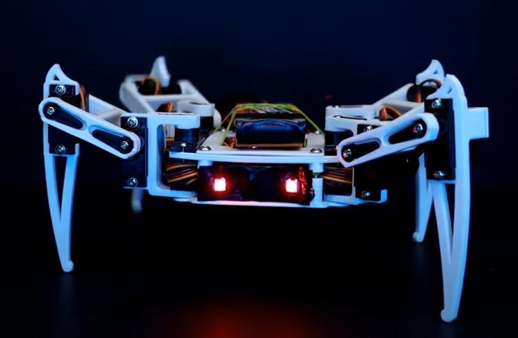 arduino spider complete