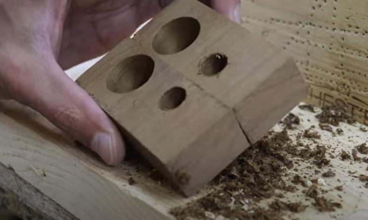 diy mallet holes
